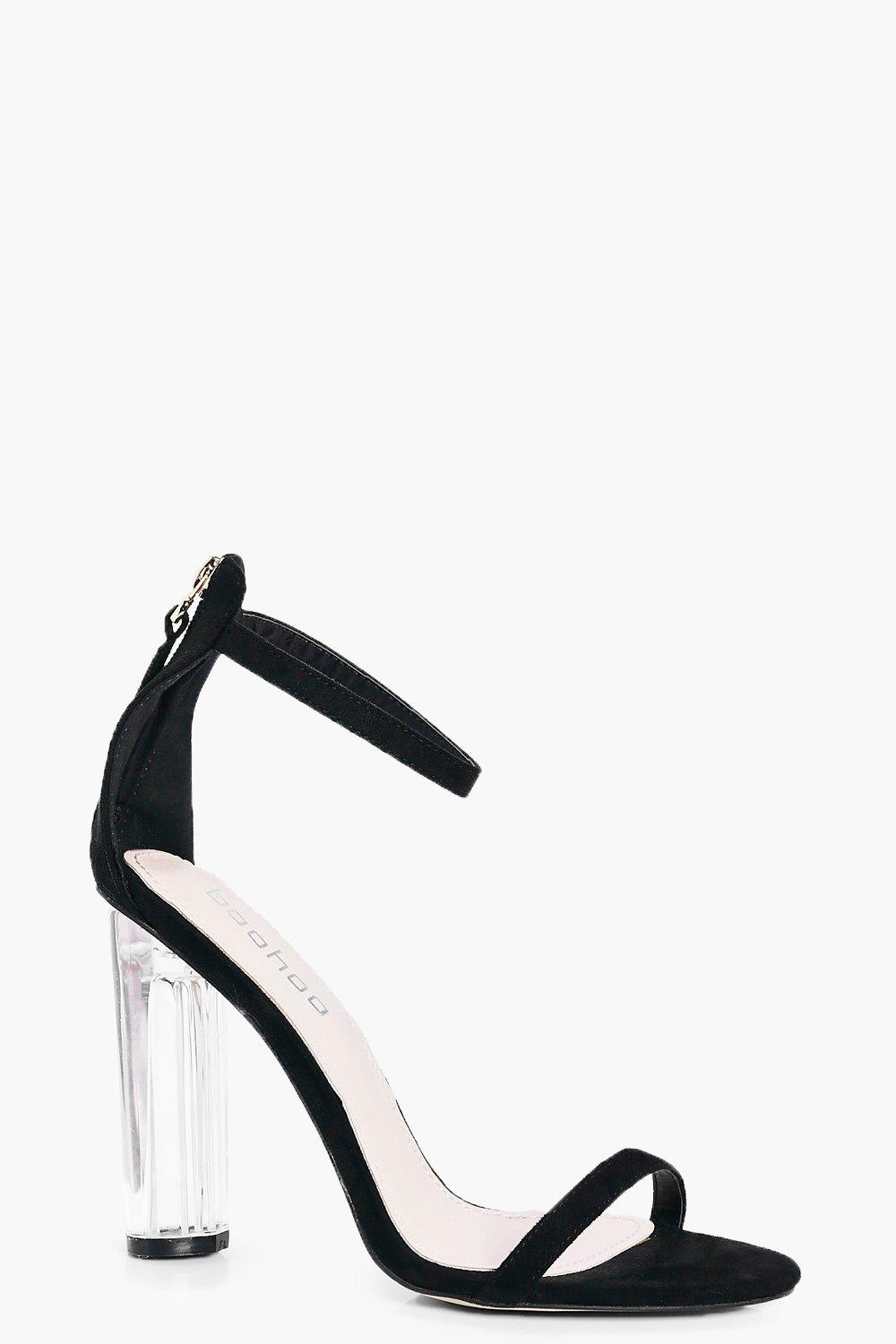 Lizzie Clear Heel Two Part