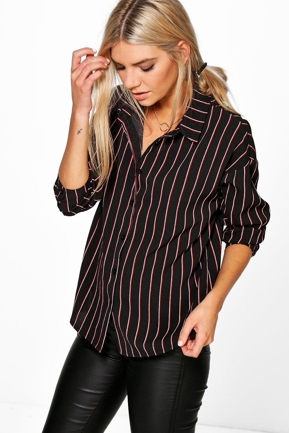 Bella Oversized Stripe Shirt