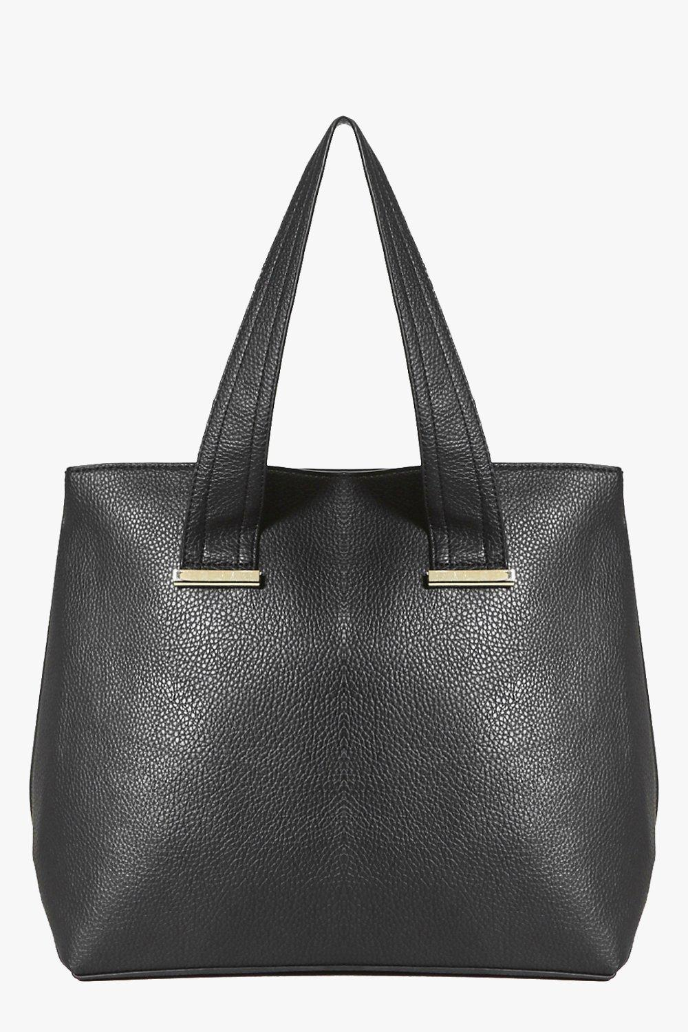 Lyla Oversized Metal Detail Day Bag