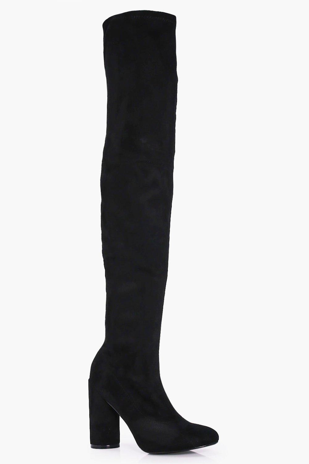 Tilly Round Heel Over The Knee Boot