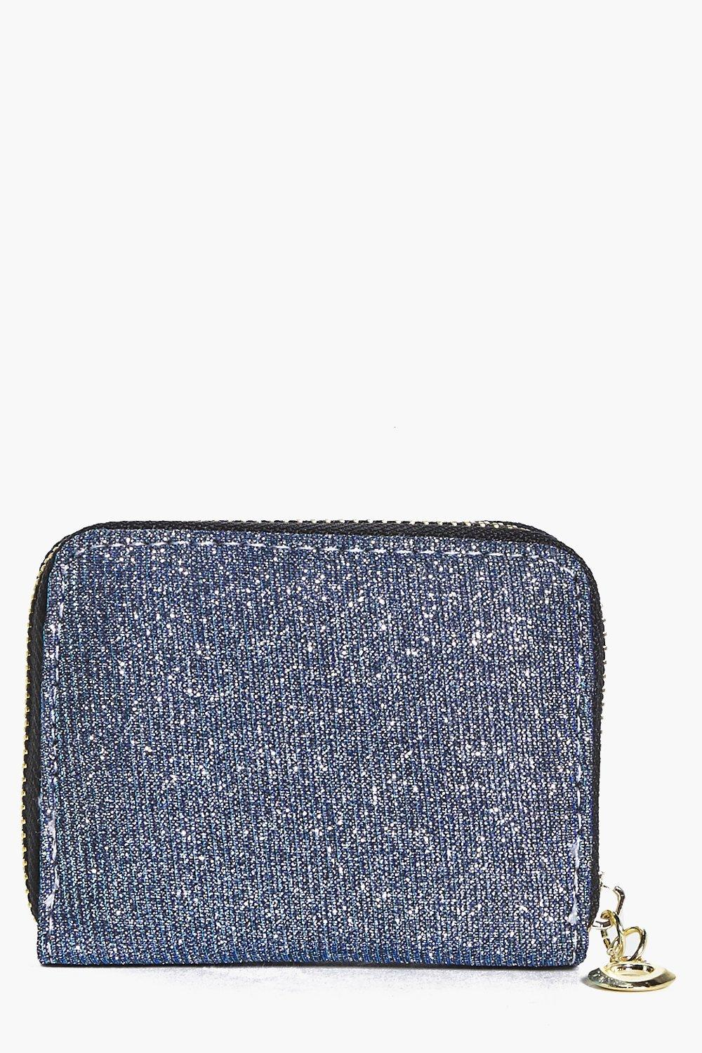 Sofia Shimmer Zip Purse