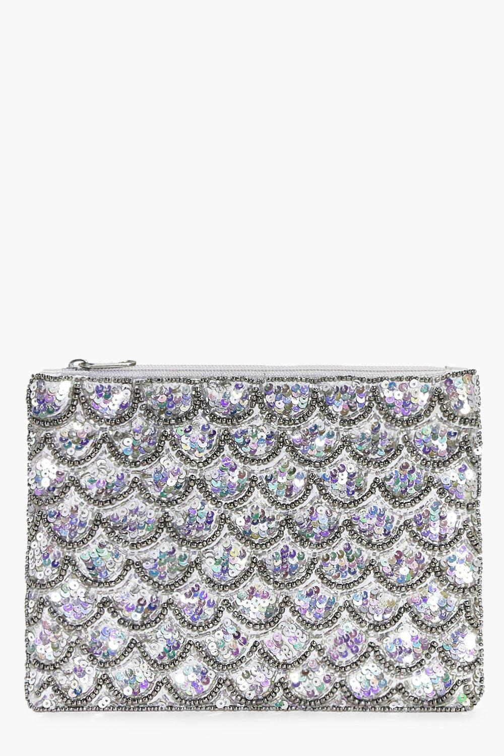 Alice Mermaid Embellished Clutch Bag