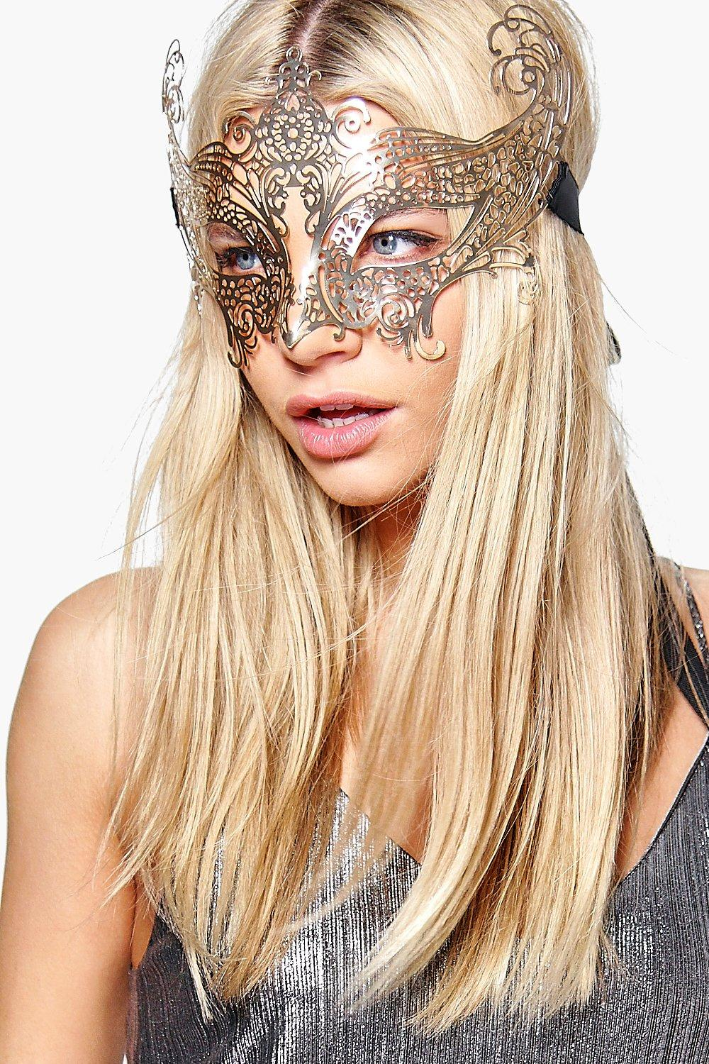 Lydia Halloween Ornate Filigree Eye Mask