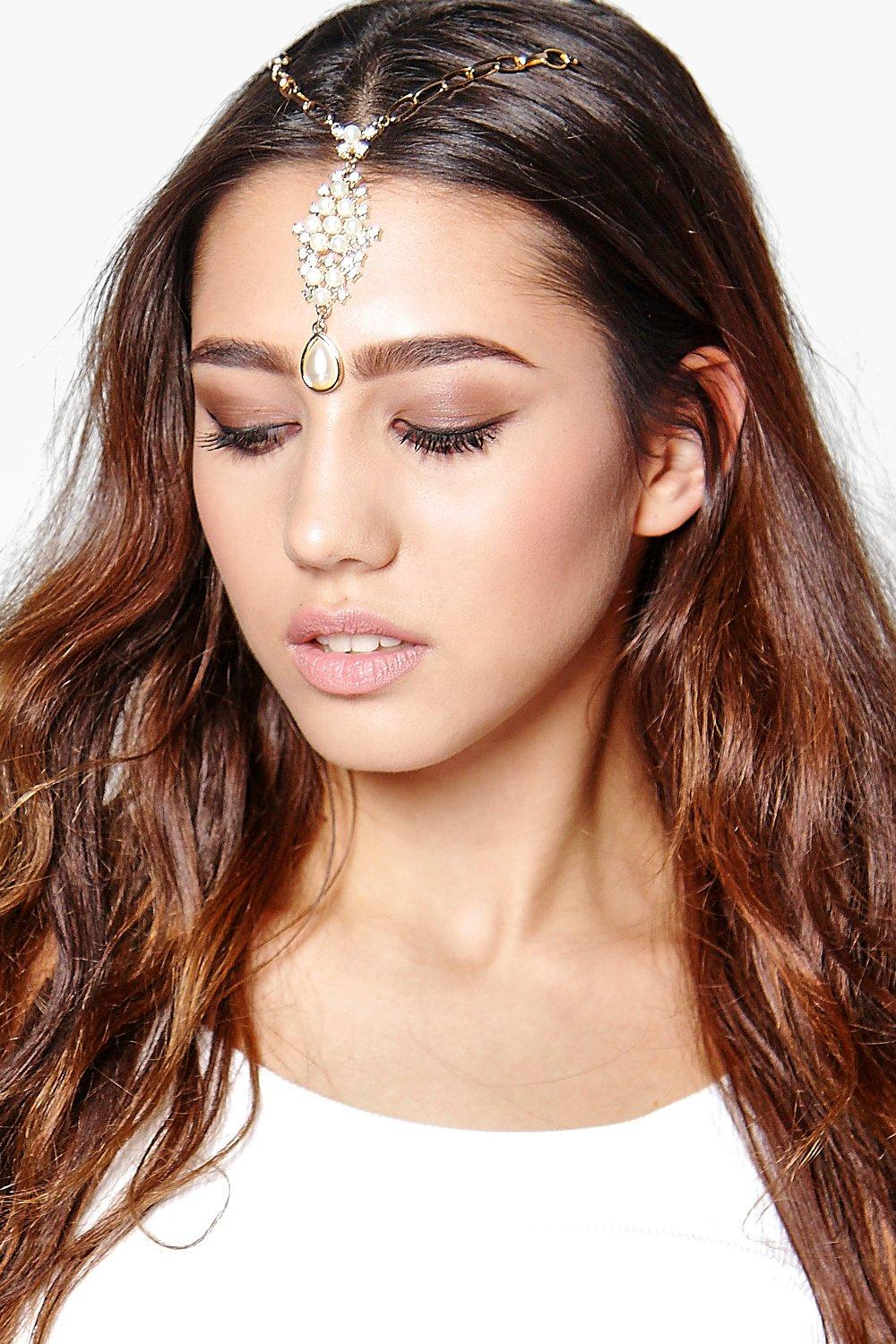 Ivy Pearl Embellished Head Chain