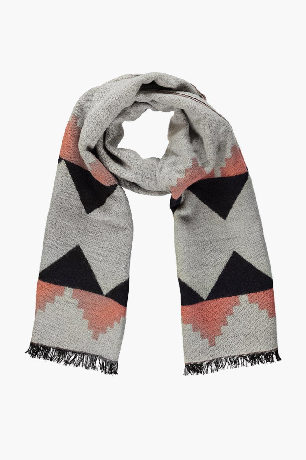 Casey Colour Block Oversized Scarf