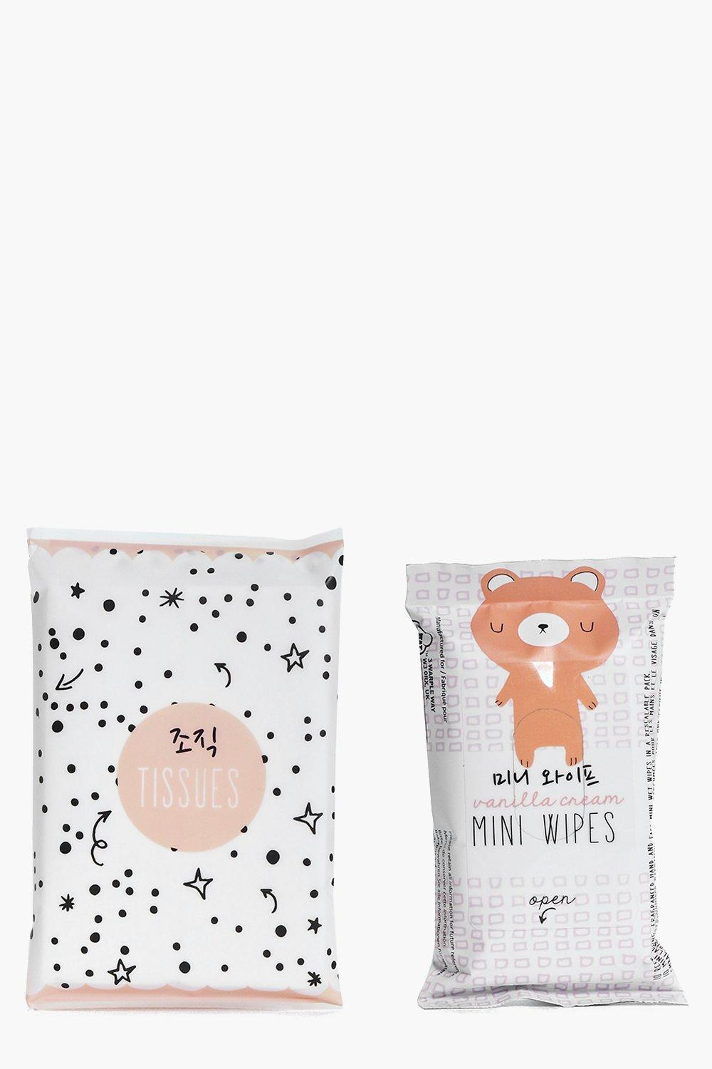 Oh K! Tissue and Wipes Set