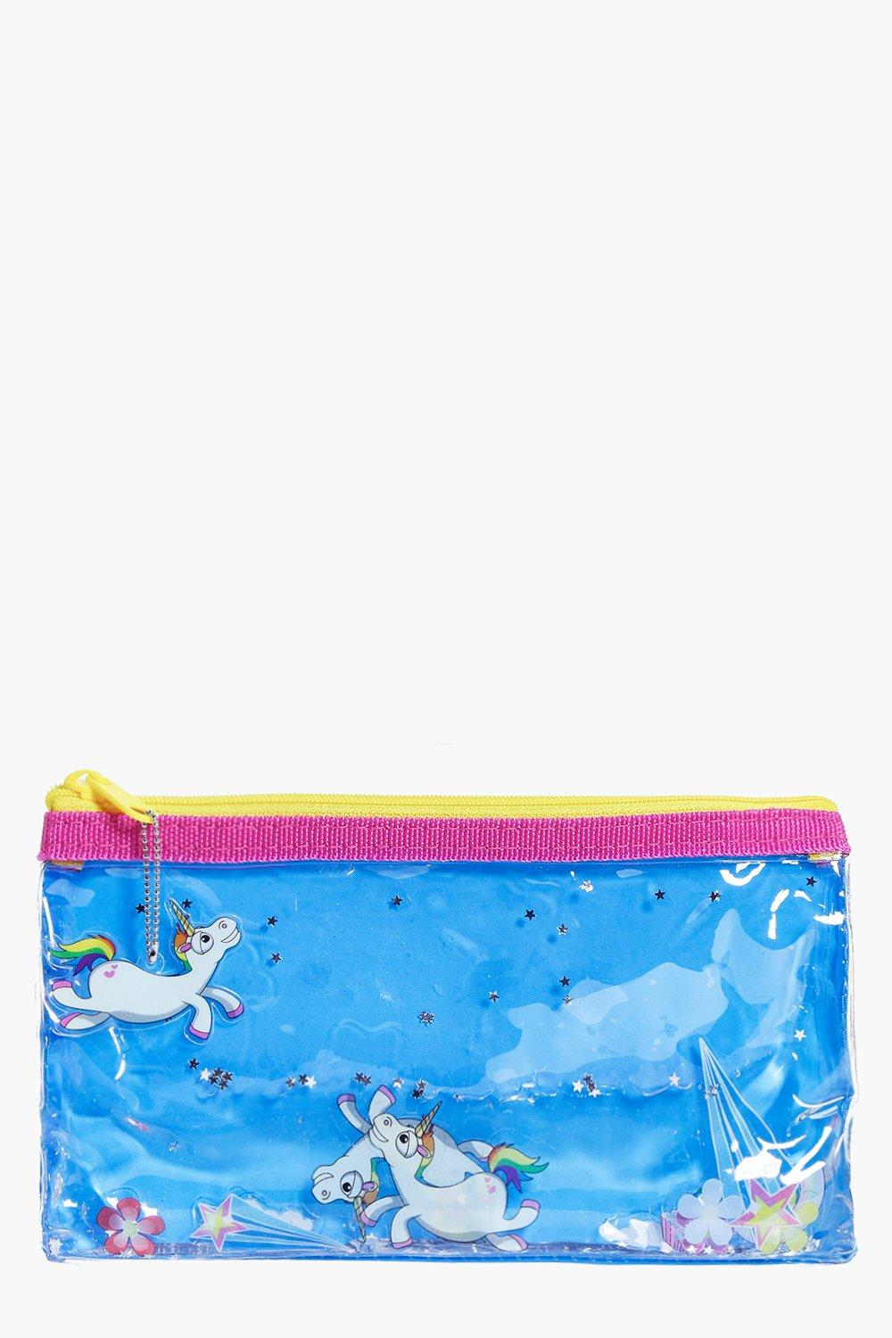 Unicorn Liquid Make Up Bag