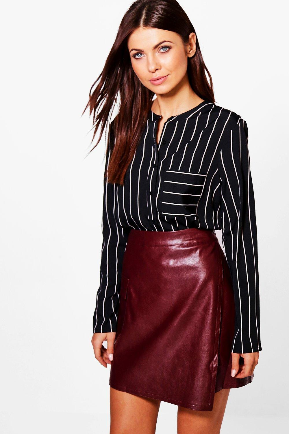 Sue Mono Stripe Blouse