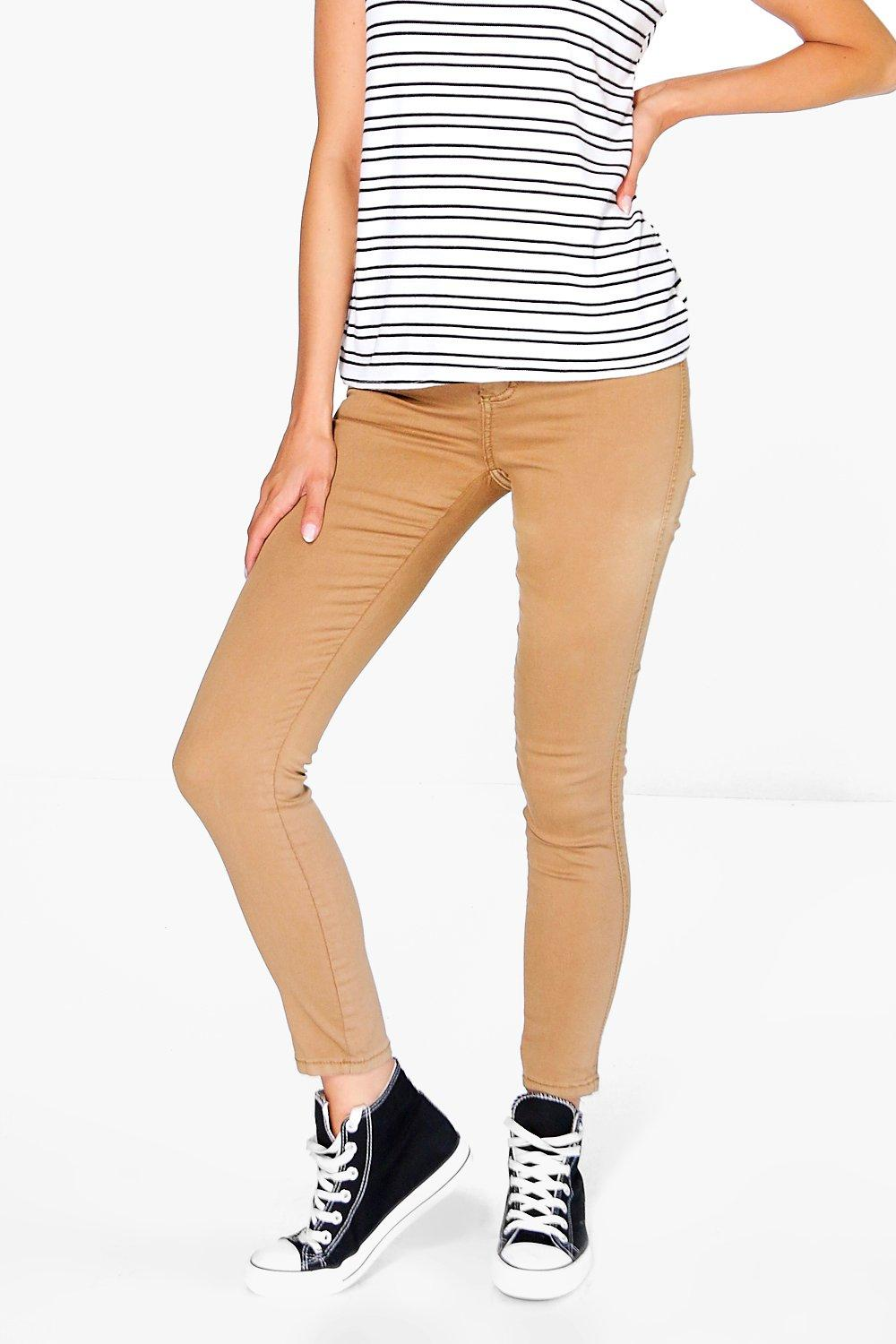 Lara High Rise Skinny Tube Jeans