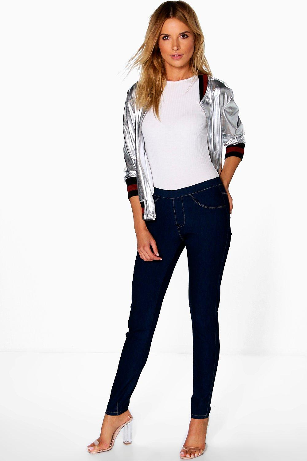Ellie Denim Pull-Up Jeggings