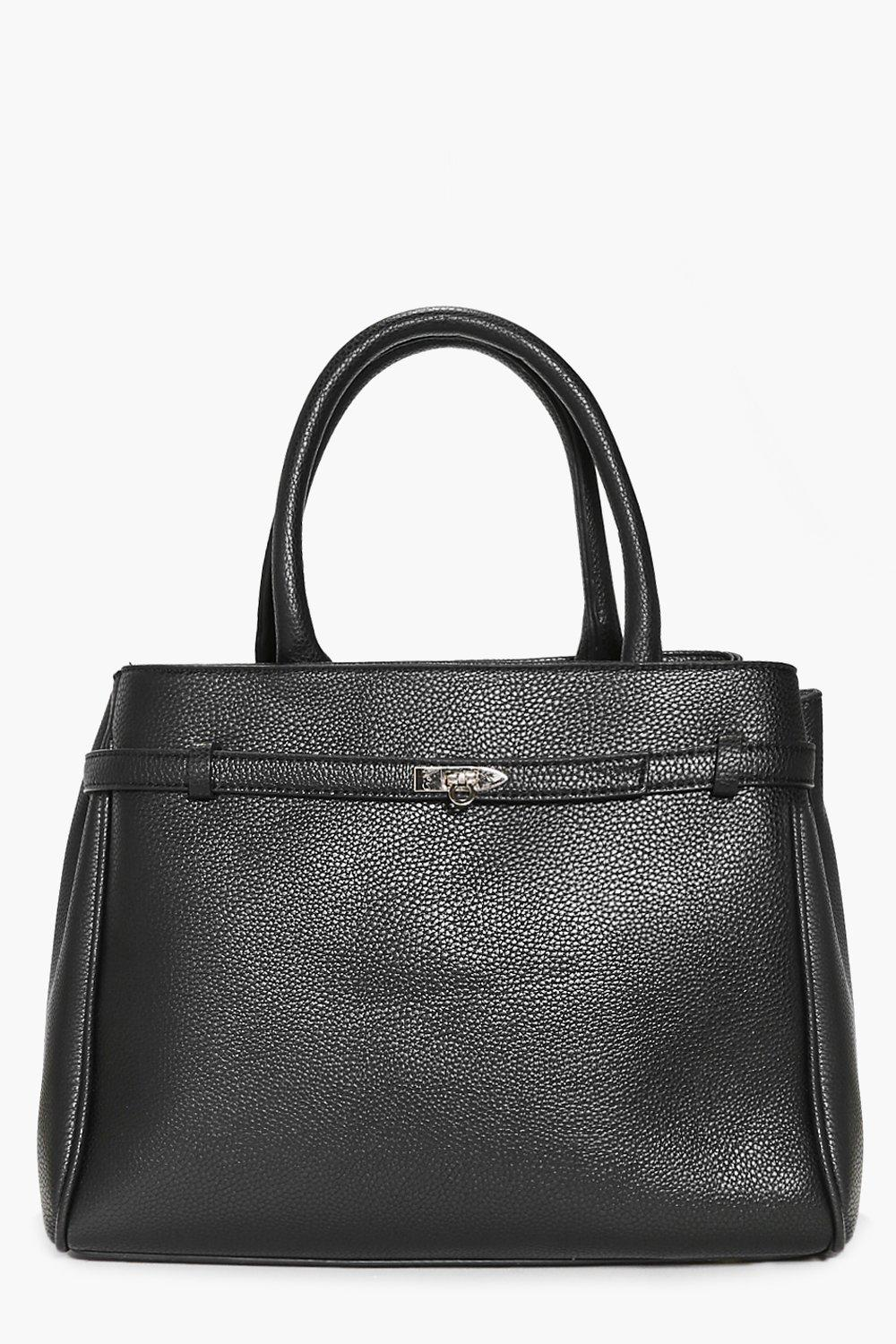 Heidi Structured Turn Lock Day Bag