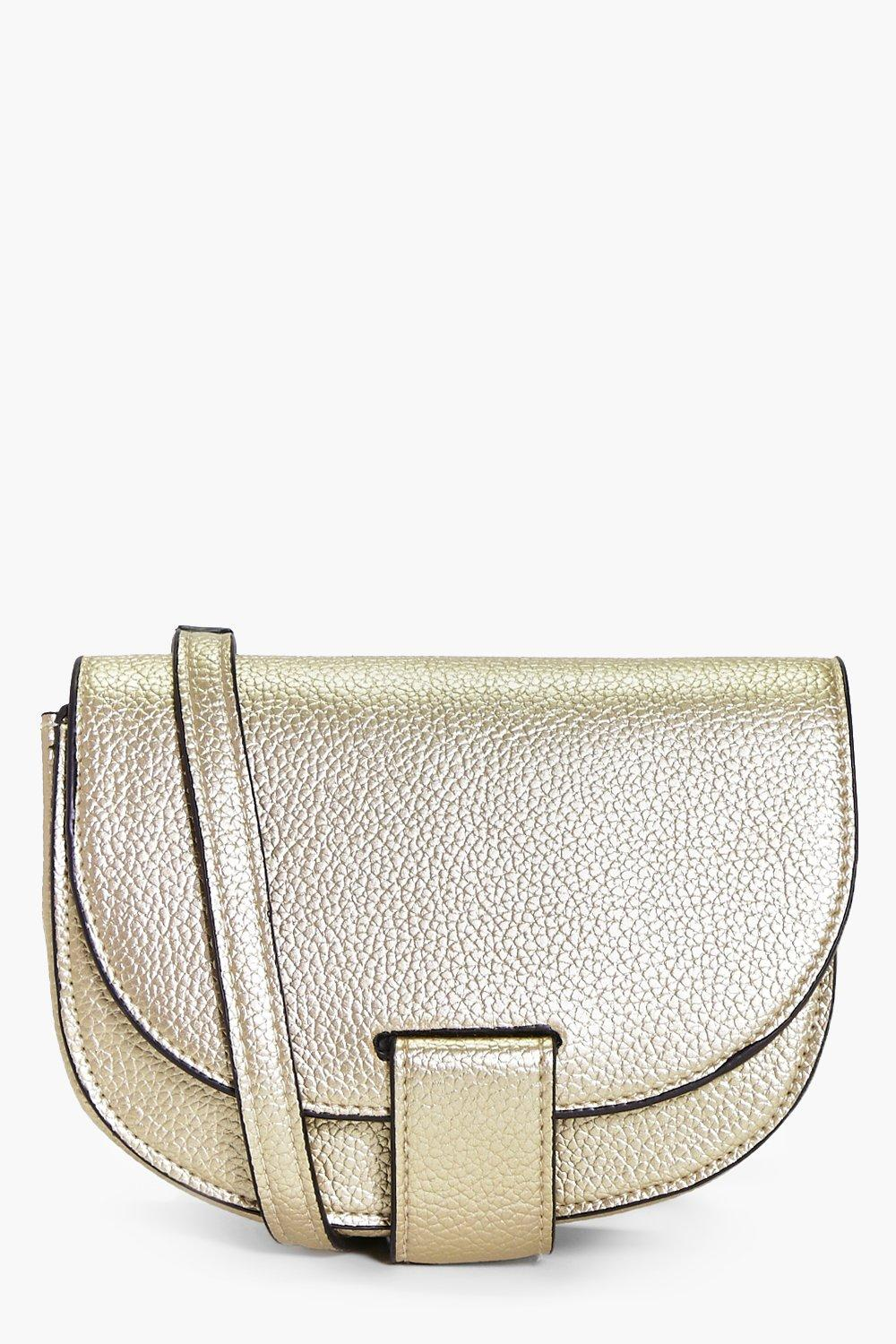 Amelia Mini Cross Body Saddle Bag