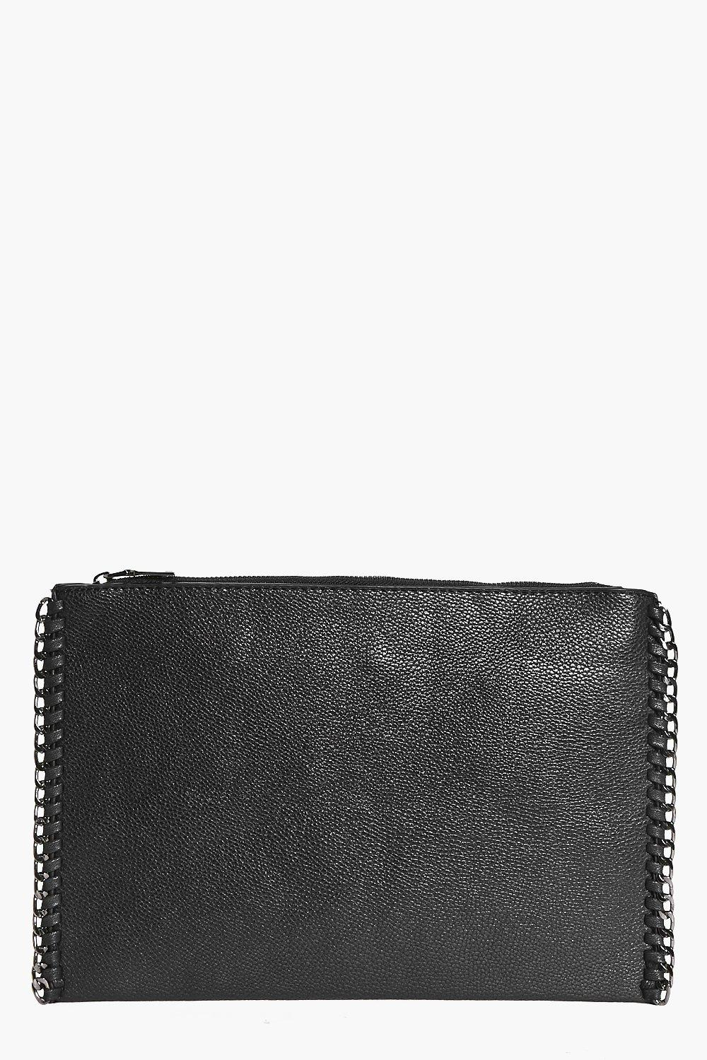 Lydia Chain Edge Clutch Bag