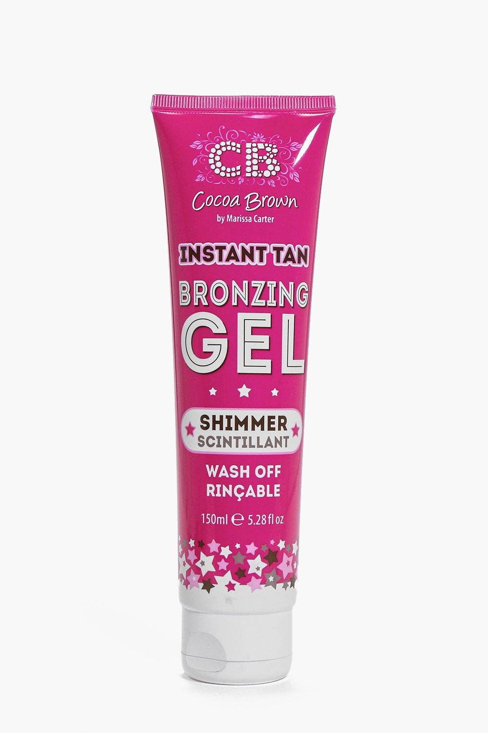 Cocoa Brown Instant Bronze Gel Shimmer
