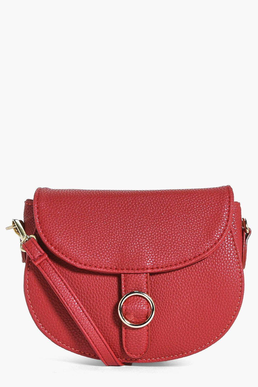 Hollie Circle Detail Saddle Bag
