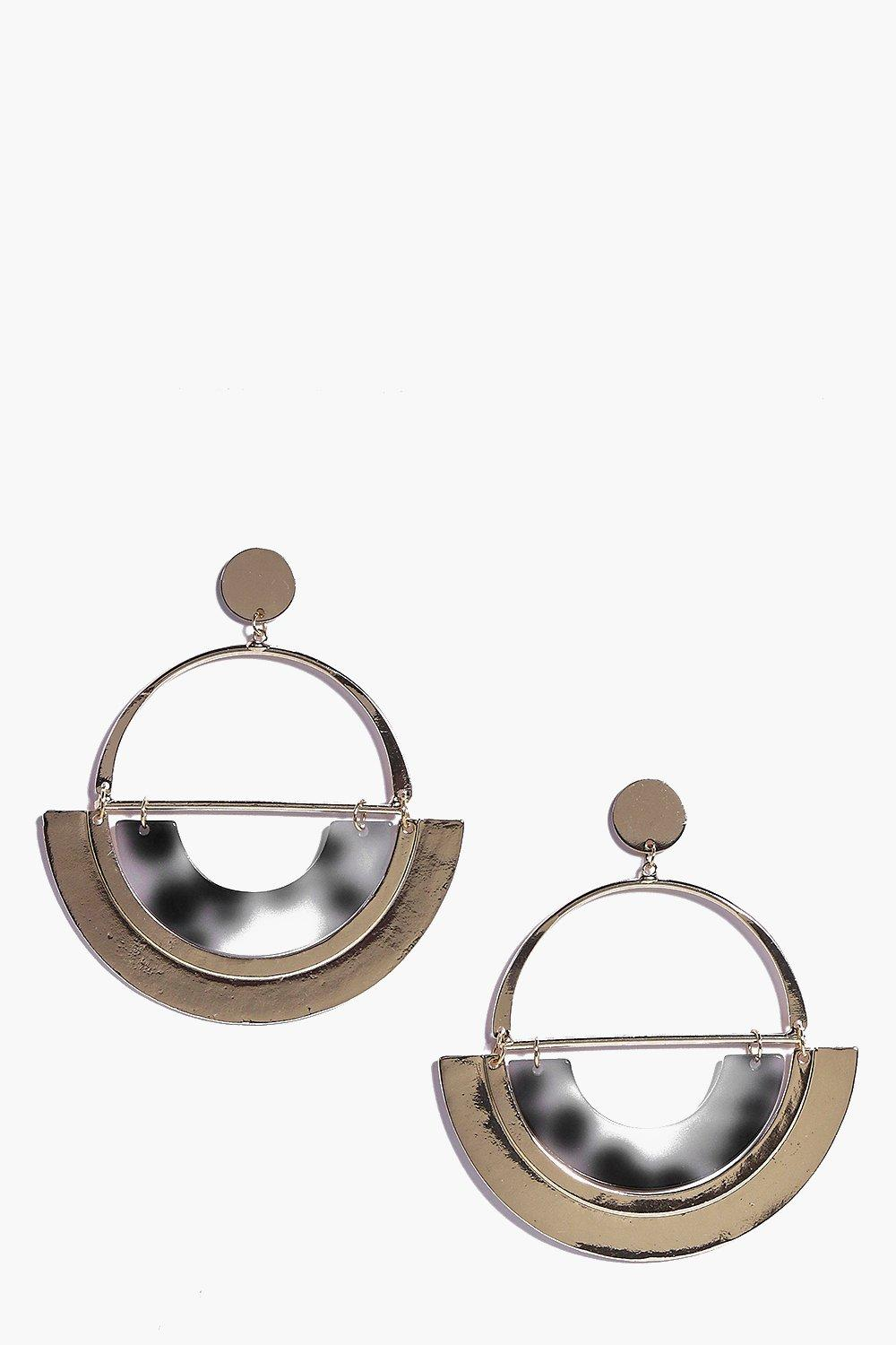Lucie Half Circle Earrings