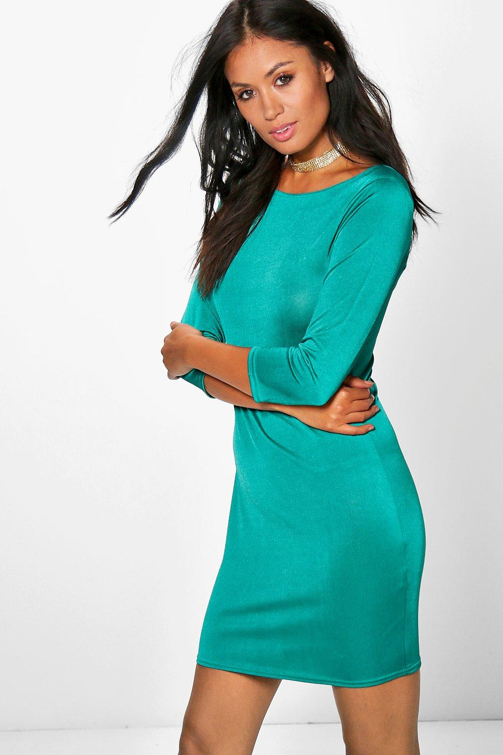 Esmerelda 3/4 Sleeved Bodycon Dress