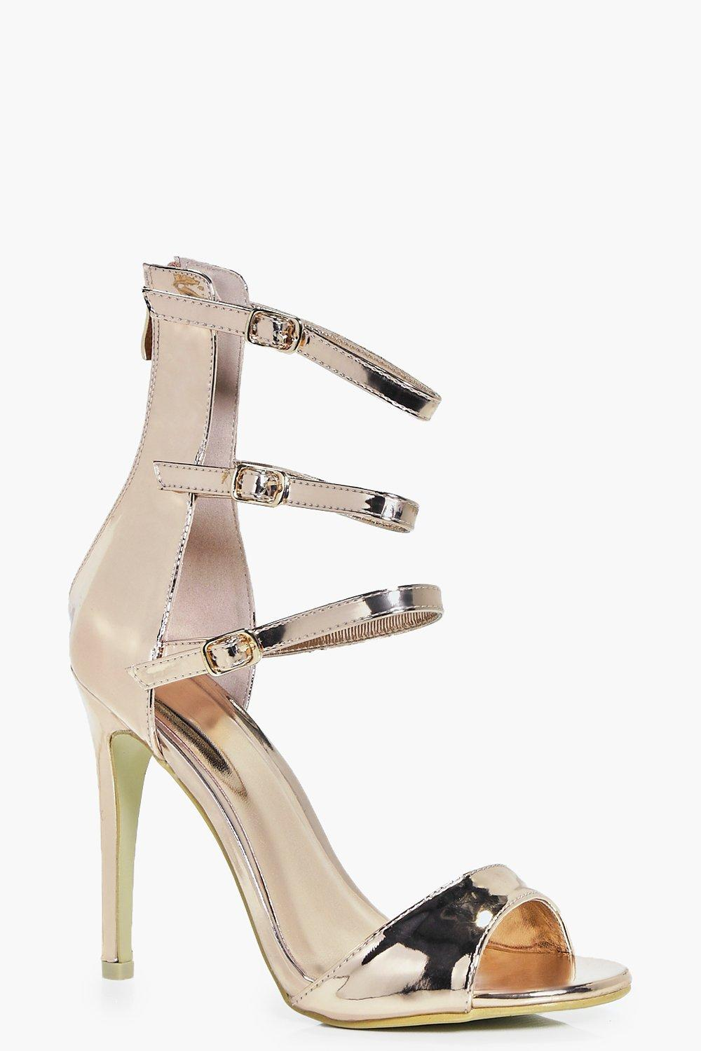 Natalie Three Strap Stiletto