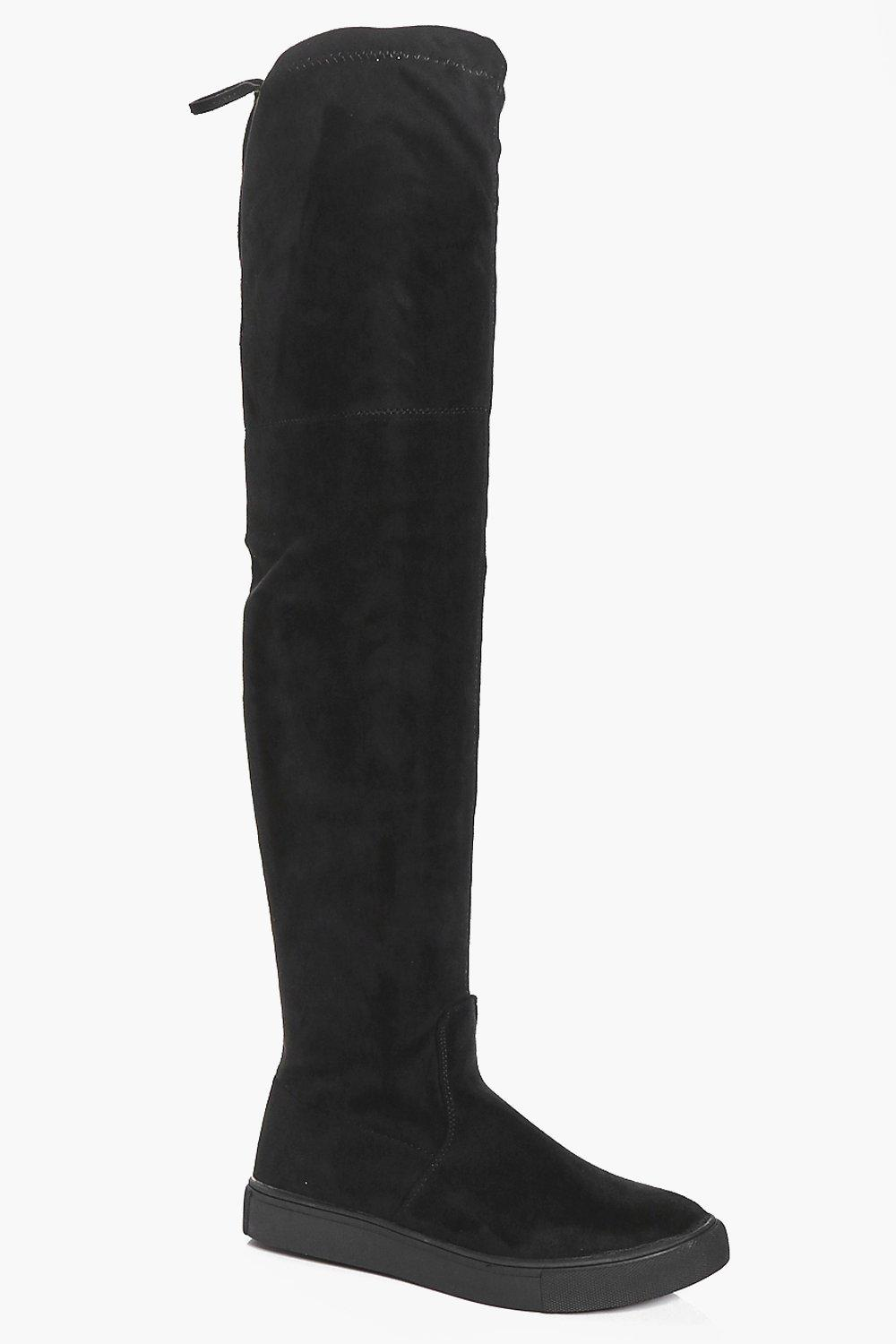 Ruby Skater Over The Knee Boot