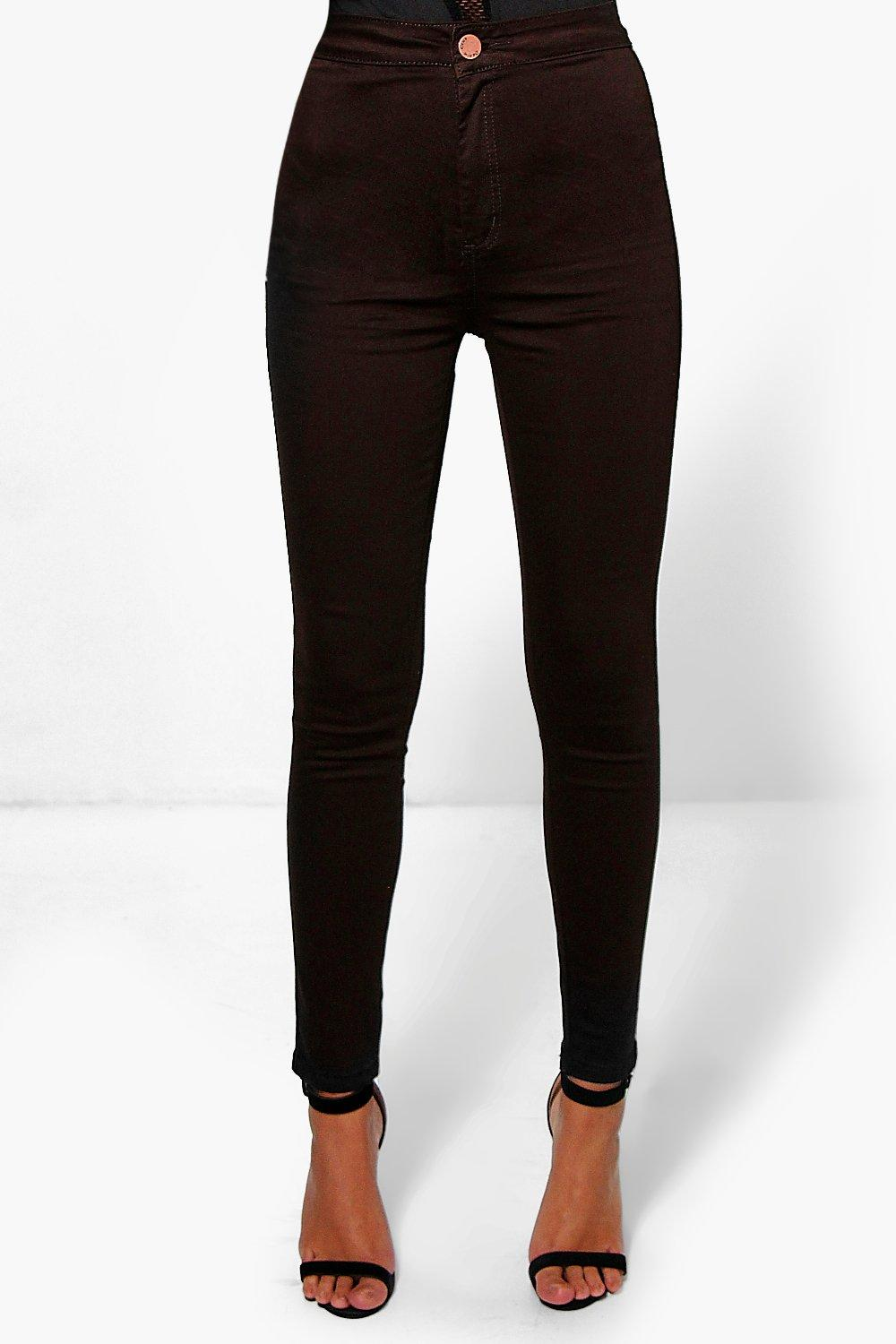 Lara High Rise Denim Tube Jeans