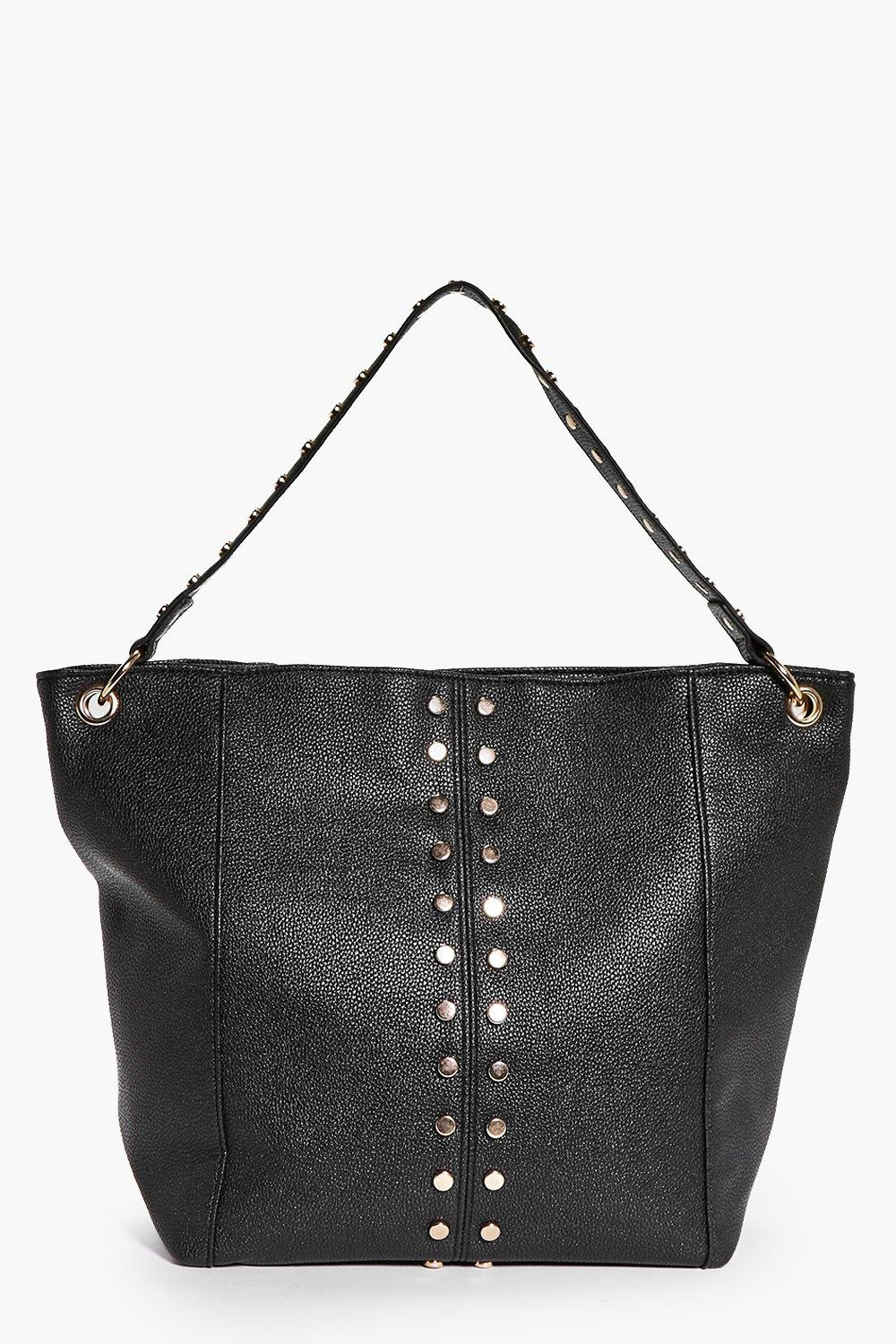 Willow Stud Detail Shopper Bag