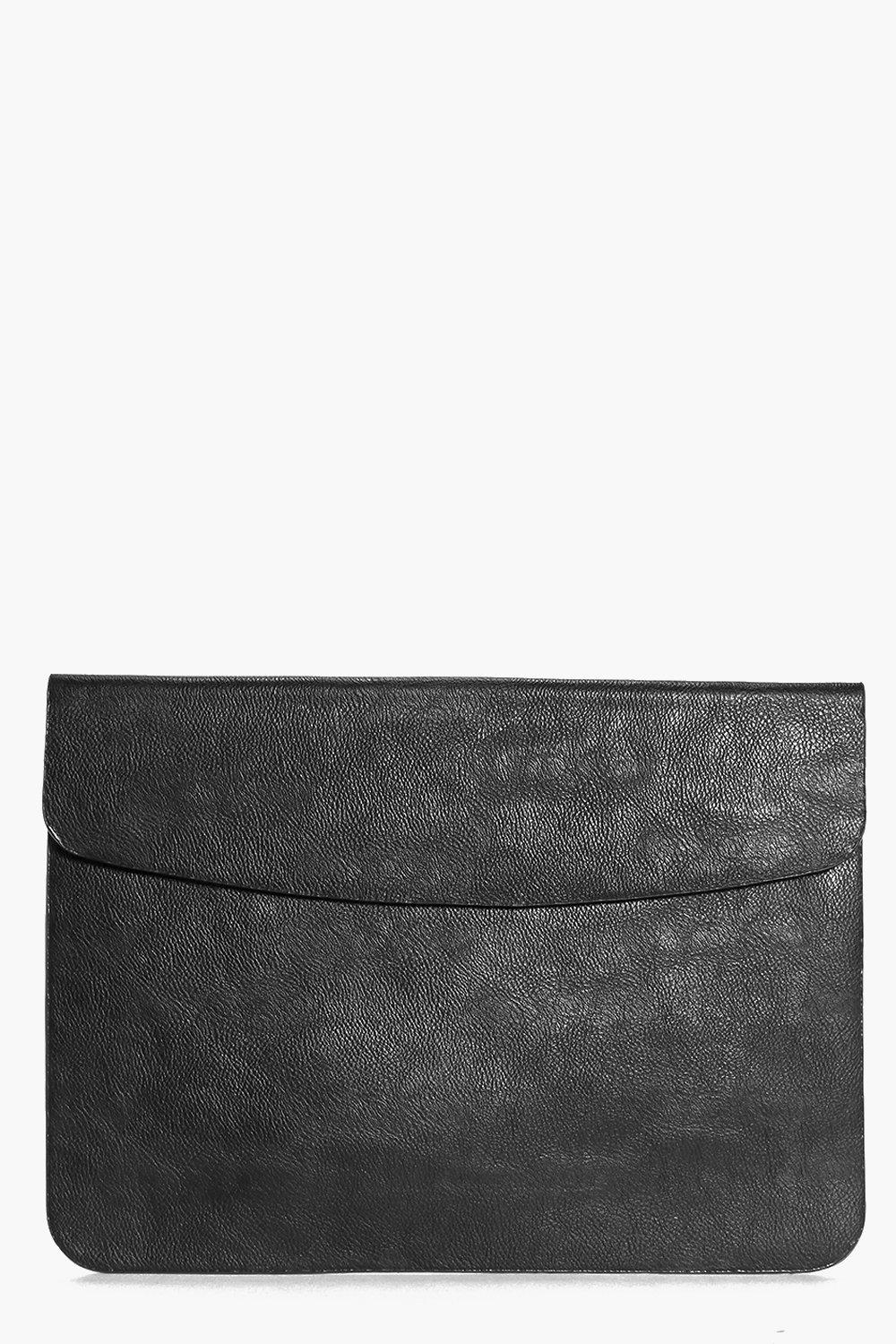 Ella Fold Over Mag Lock Oversized Clutch