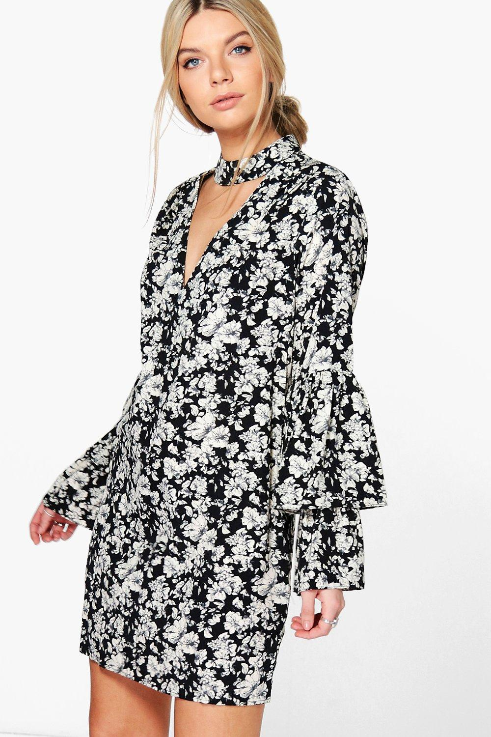 Harmony Tiered Sleeve Shift Dress