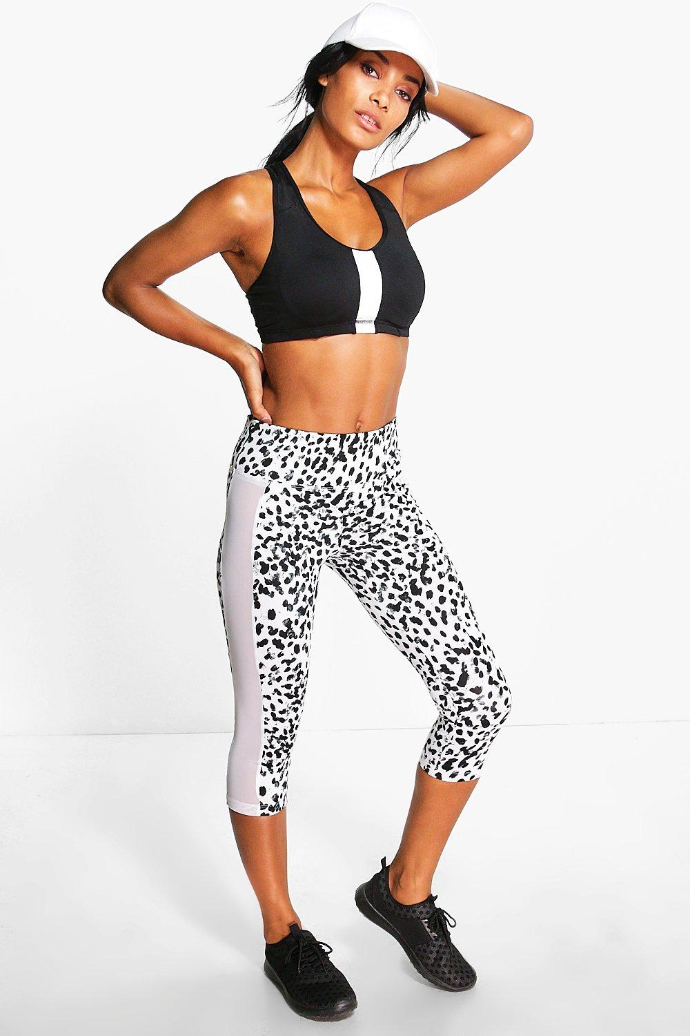 Evie Fit Spot Print Performance Legging