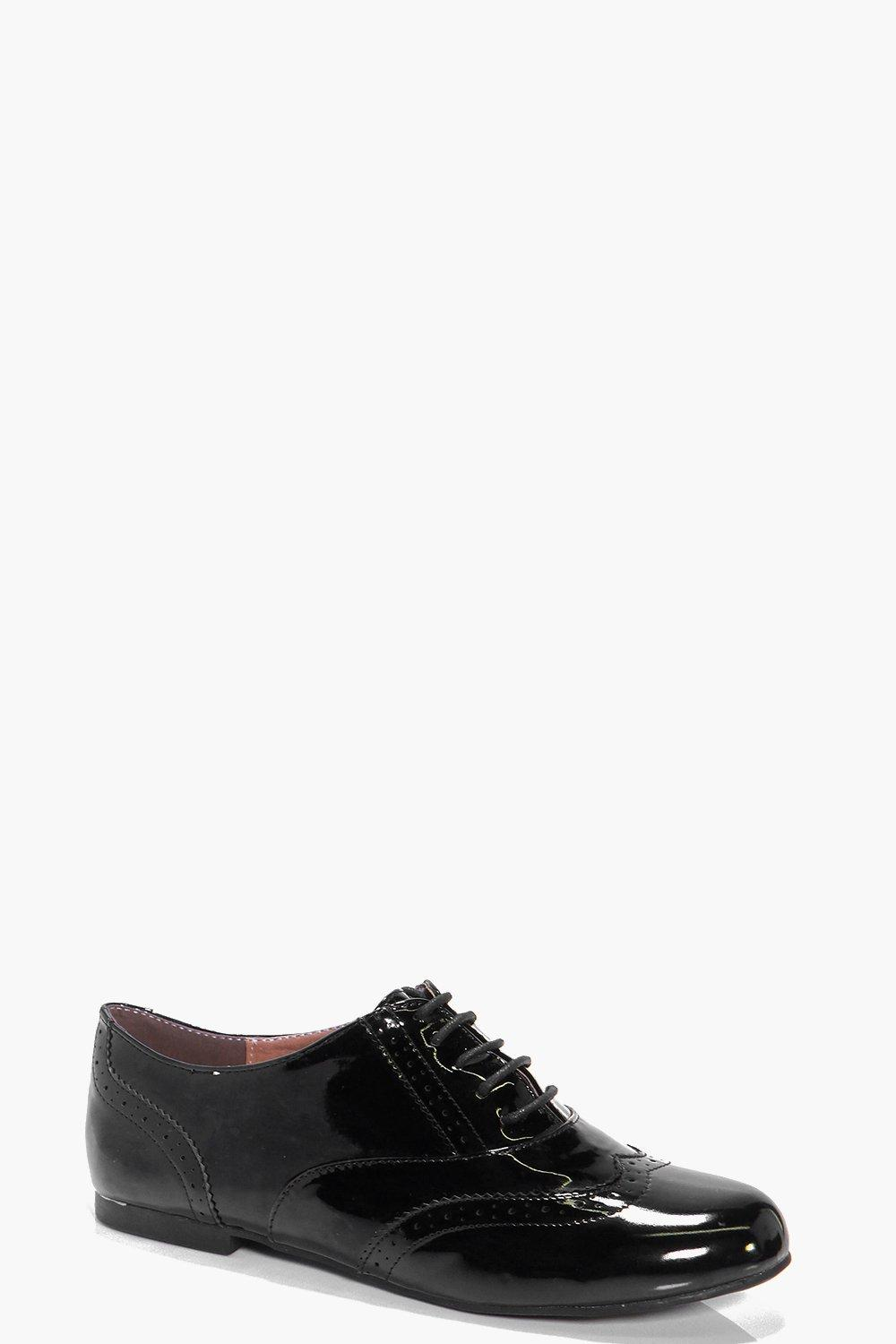 Layla Pin Punch Lace Up Brogue