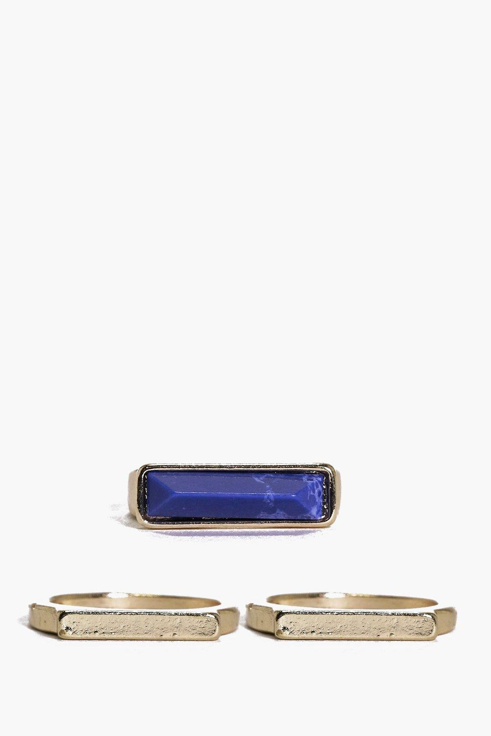 Victoria Mixed Plain And Cocktail Ring Pack