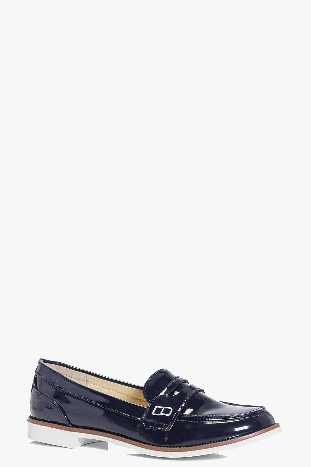 Florence Patent Loafer Flat
