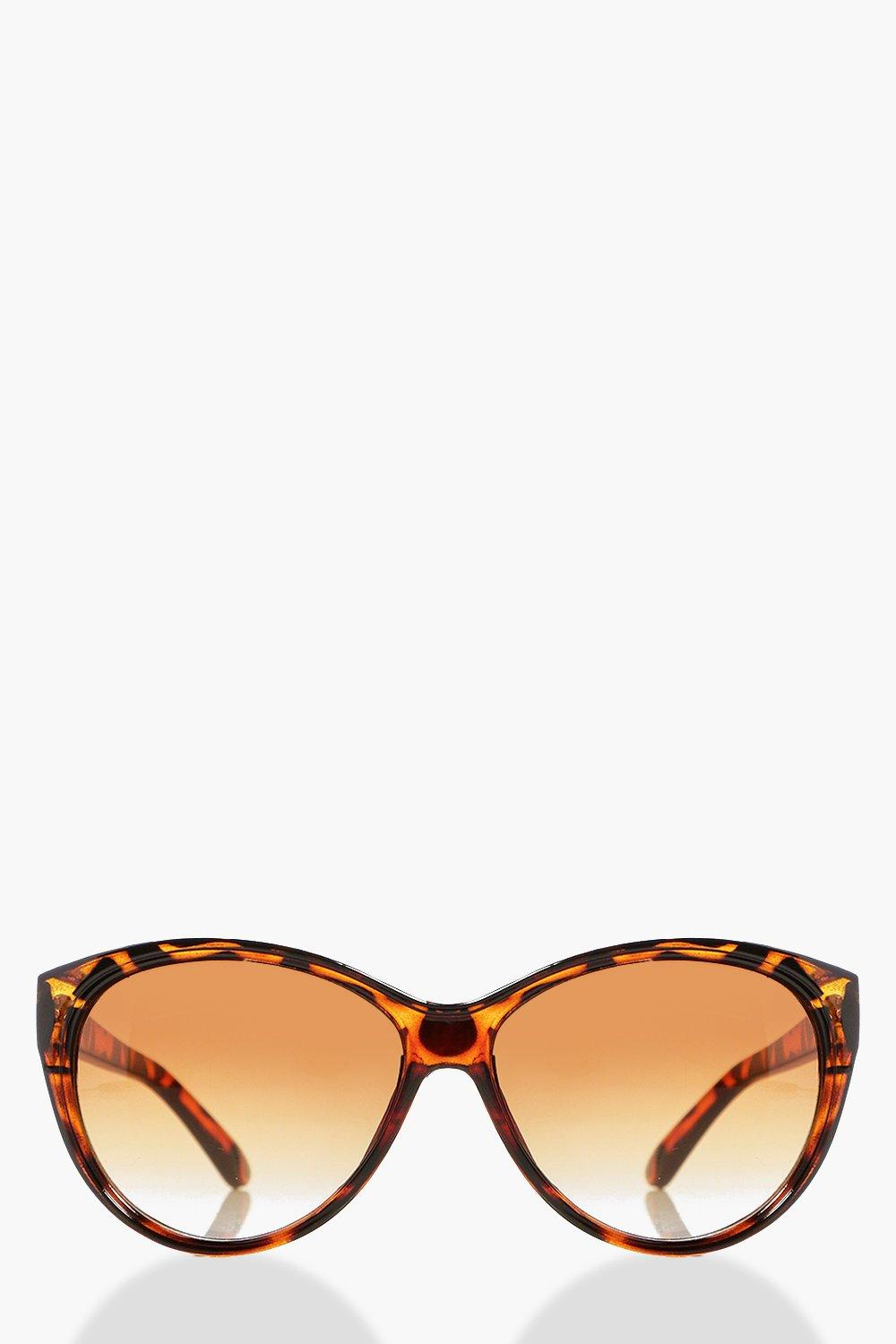 Eva Tortoise Shell Cat Eye Sunglasses