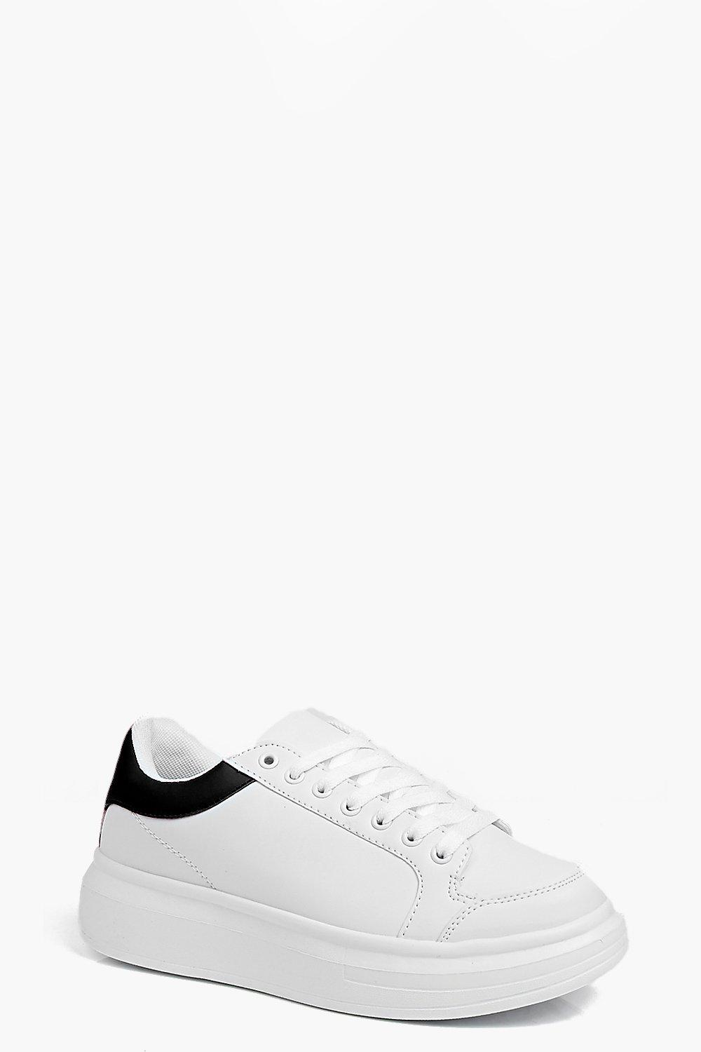 Leah Lace Up Platform Trainer