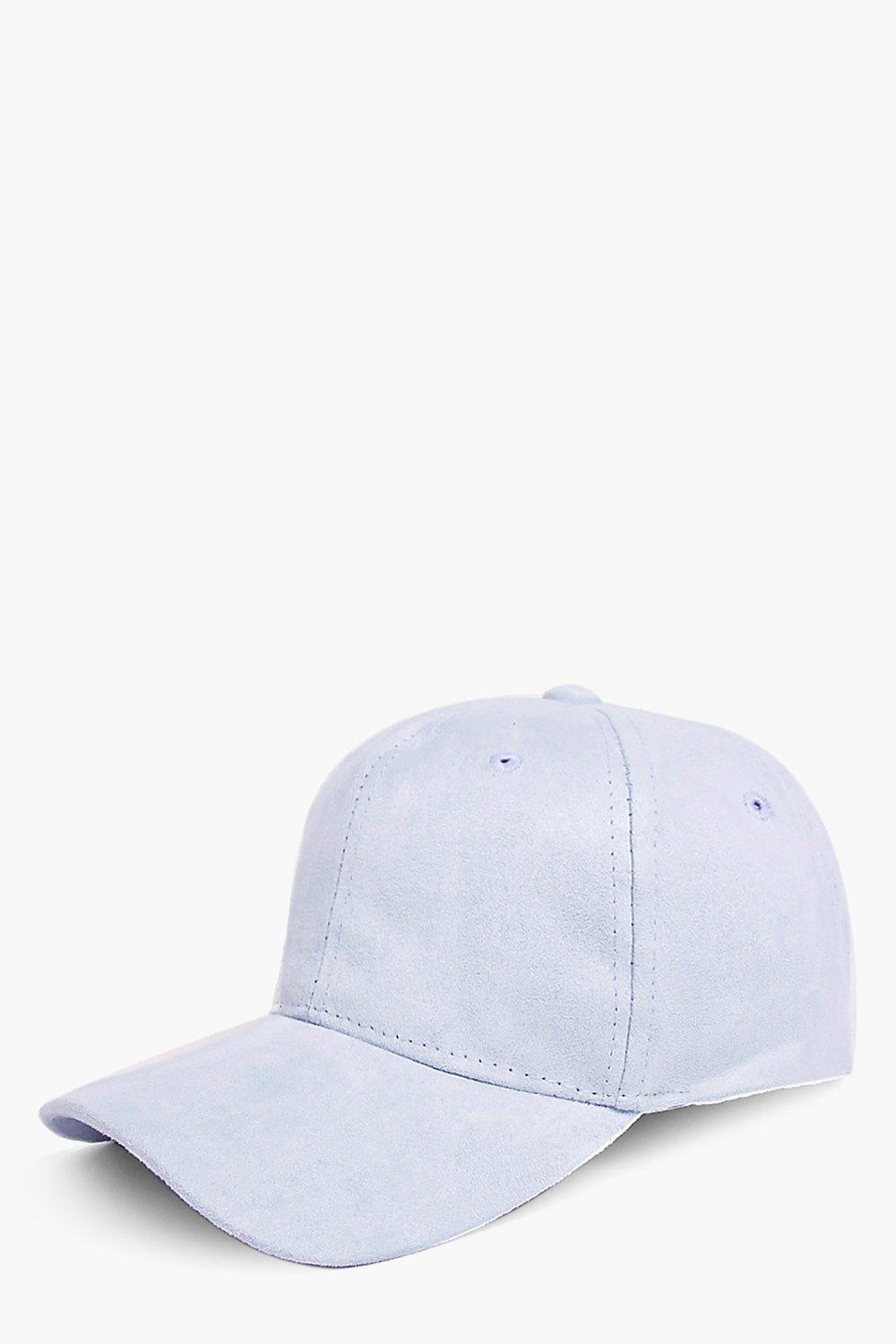 Billie Faux Suede Baseball Cap