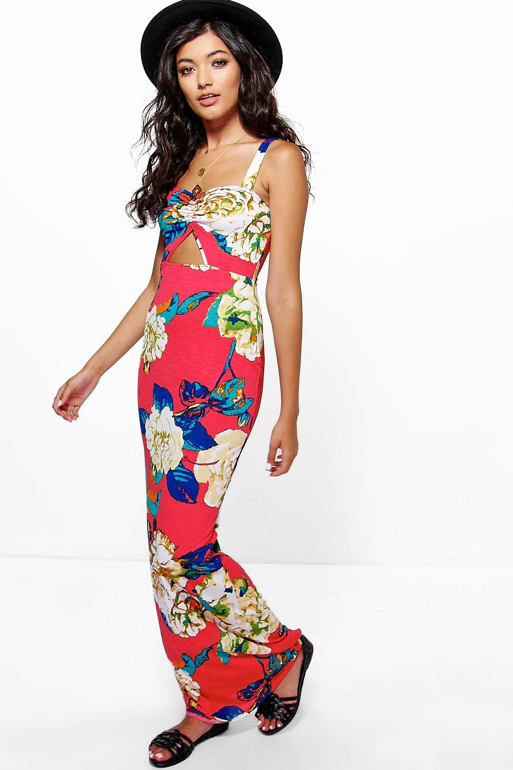 Joanie Floral Maxi Dress