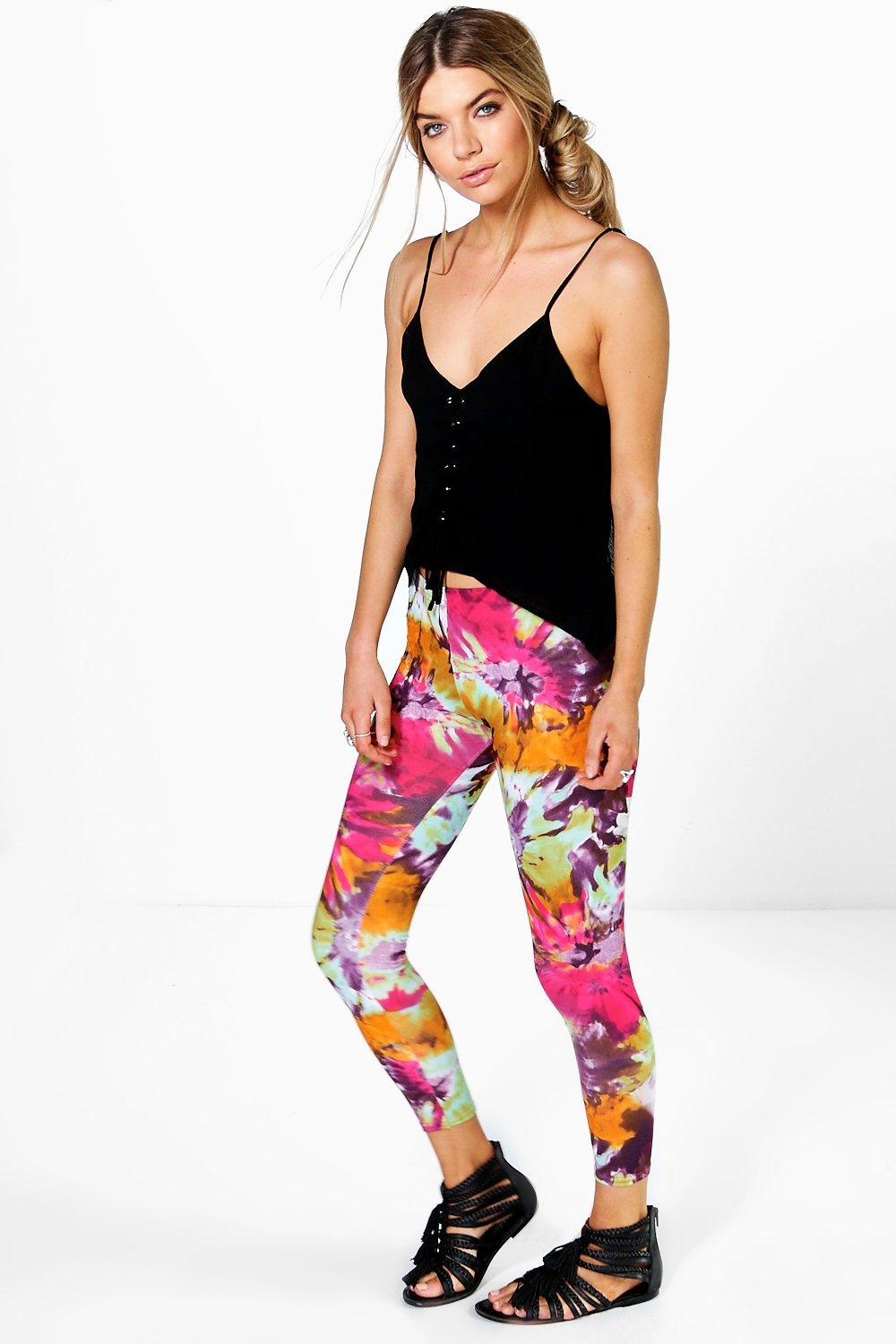 Ella Multi Tie Dye Leggings