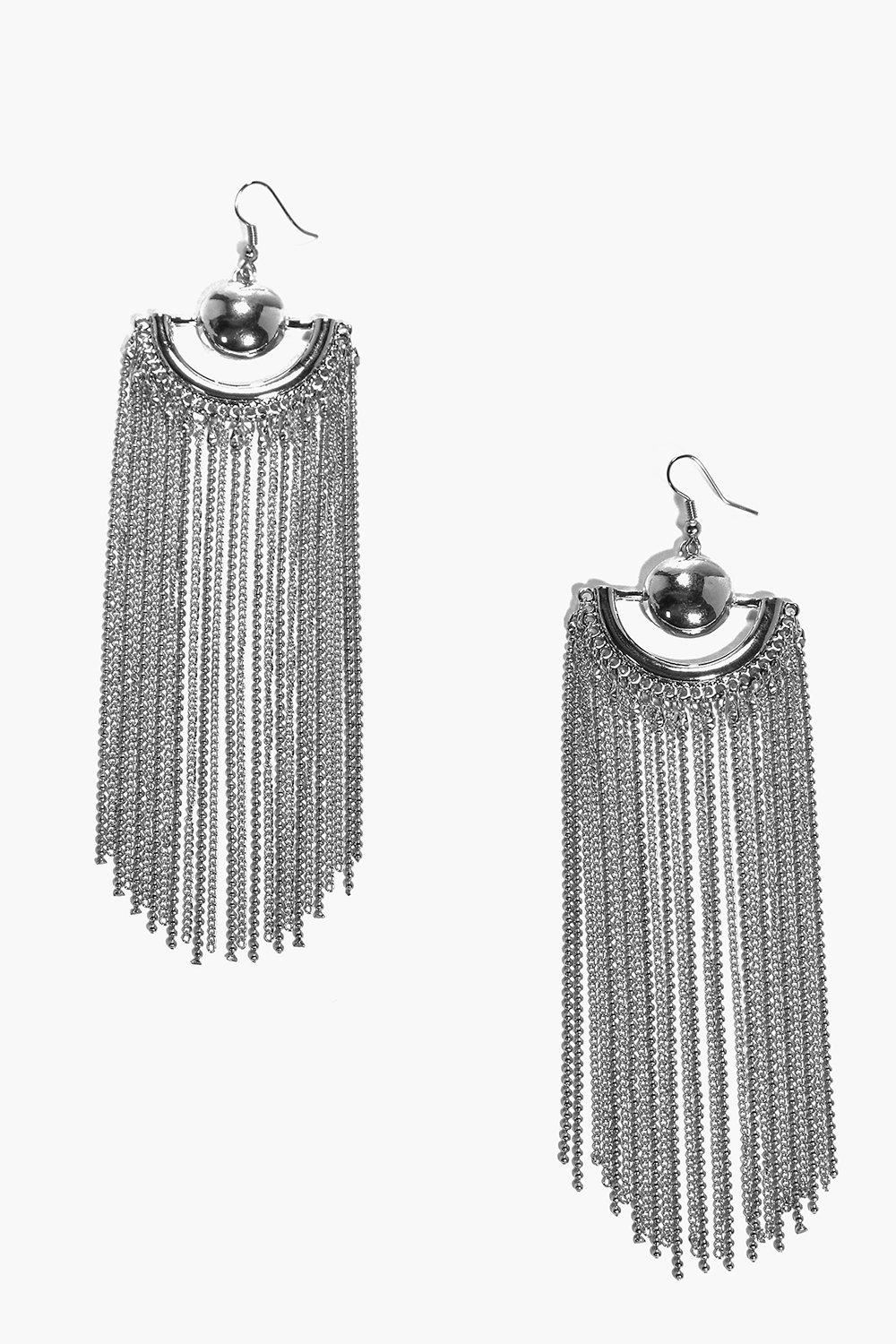 Ella Long Length Chandelier Earrings