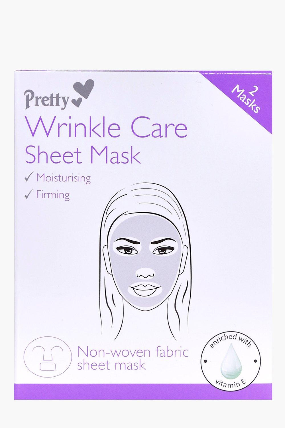 Wrinkle Care Sheet Face Mask
