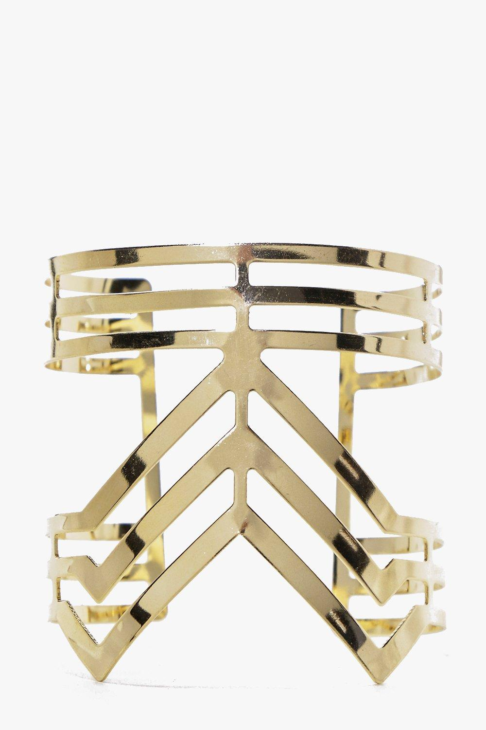Claire Geo Cut Out Cuff