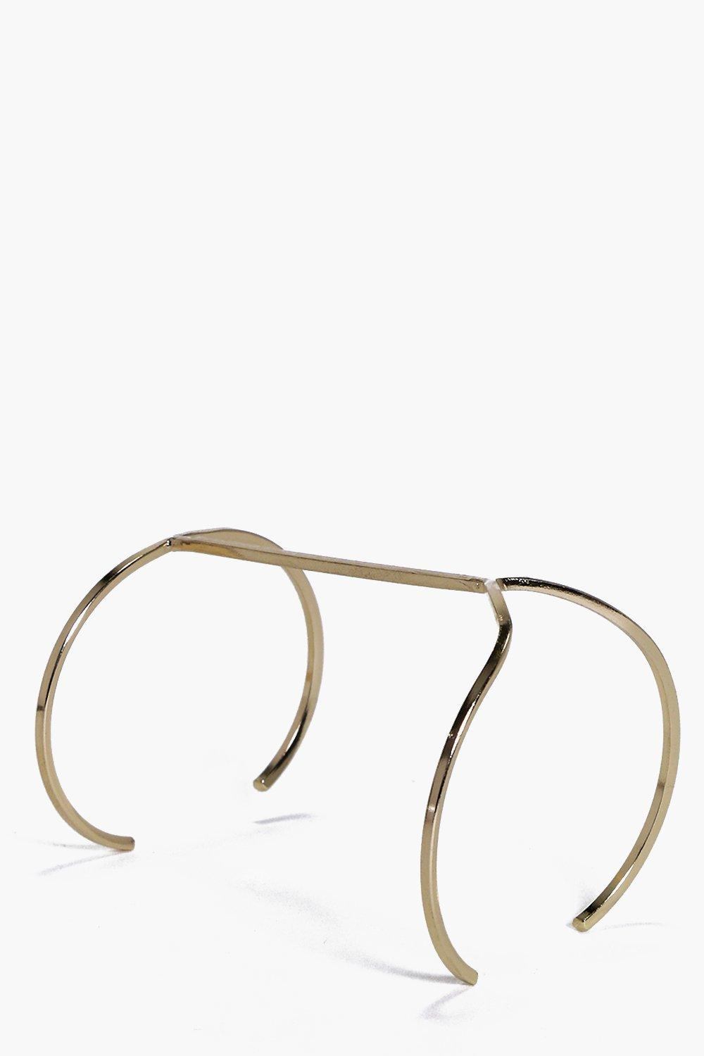Tegan Skinny Simple Bracelet Cuff
