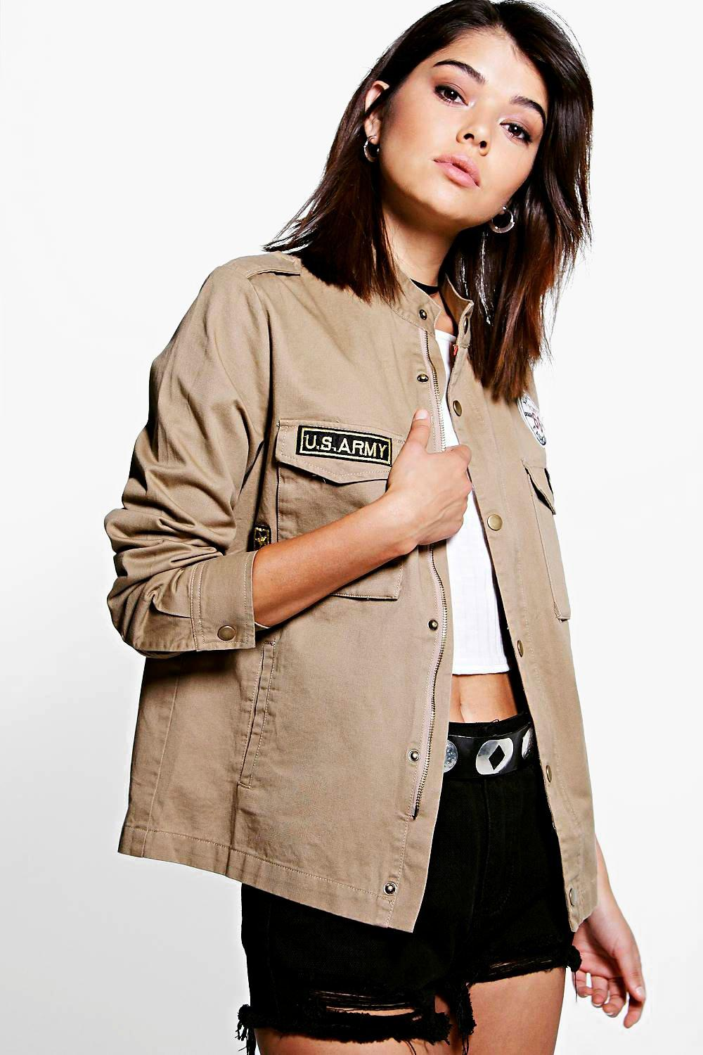 Boutique Layla Army Jacket