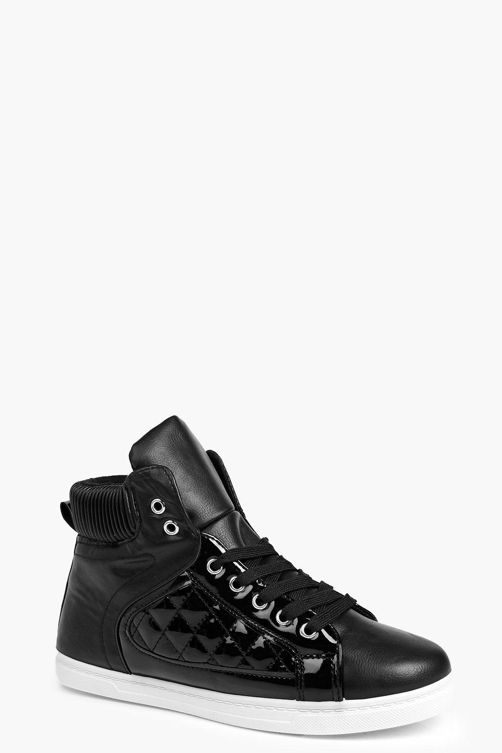 Grace Quilted Panel High Top