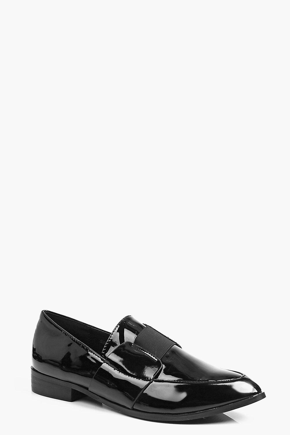 Violet Strap Detail Loafer
