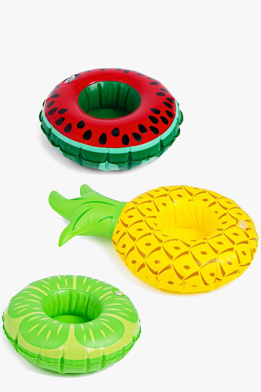 Pineapple Watermelon & Lime Pool Float 3 pk