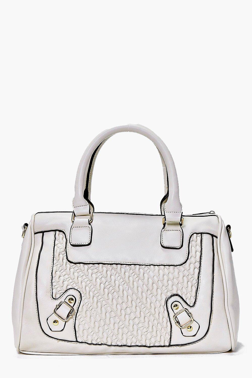 Leila Structured Quilted Bowler Day Bag