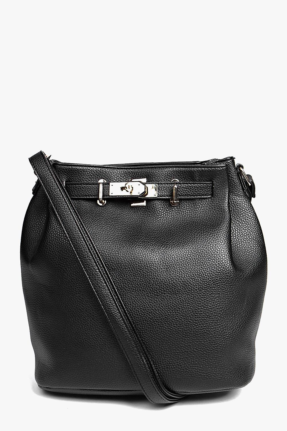 Nancy Metal Detail Oversized Duffle Bag
