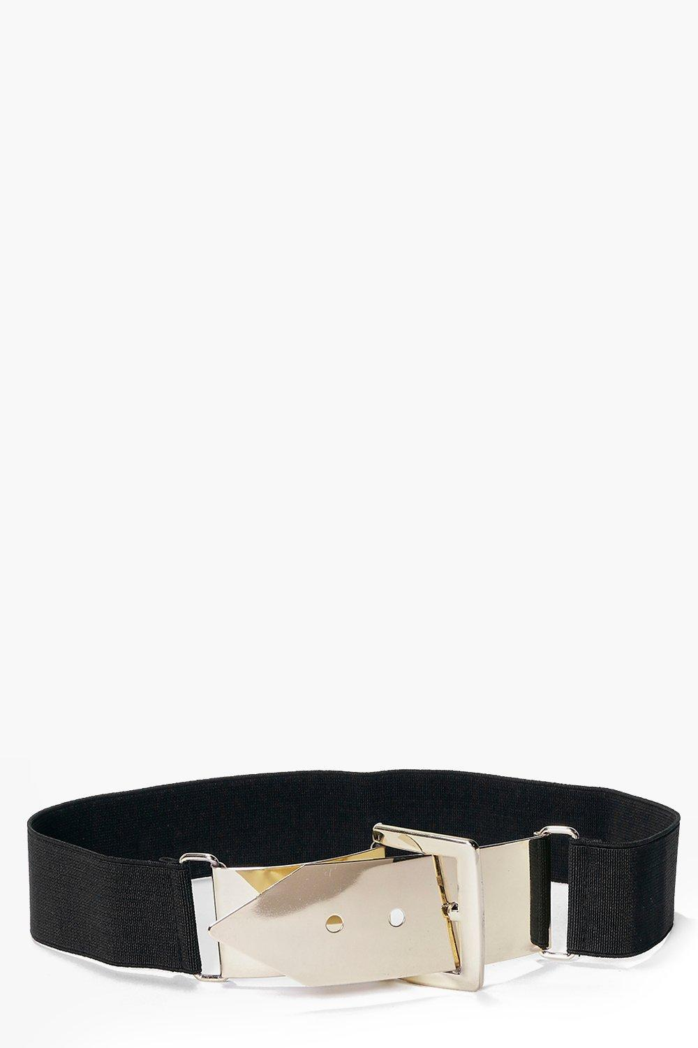Grace Metal Plate Buckle Waist Belt