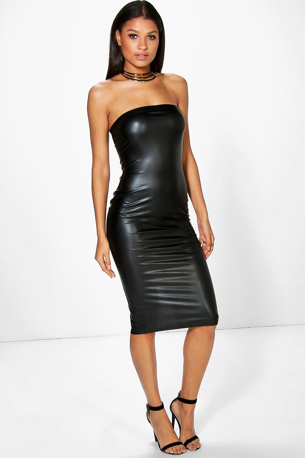 Aileen Pu Bandeau Midi Dress