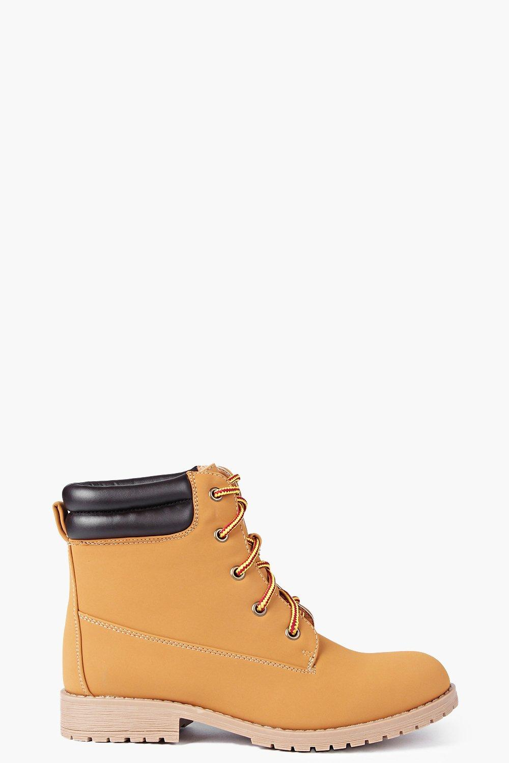 Tilly Lace Up Hiker Boot