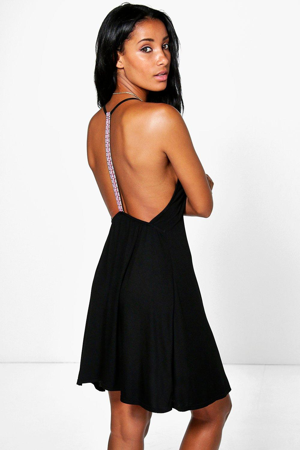 Serenna Tape Trim Sundress